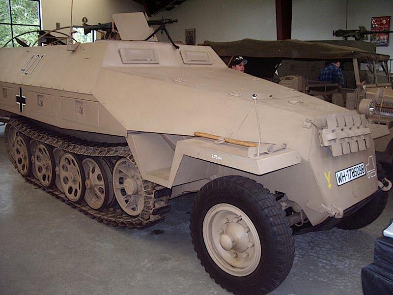 Sdkfz 251 - Мобільний