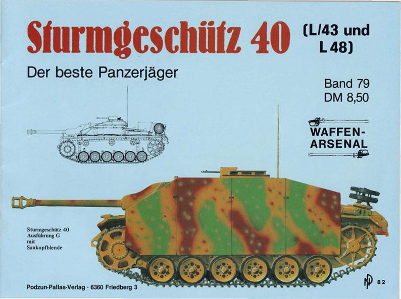 Sturmgeschütz 40 - Waffen Arsenal 079