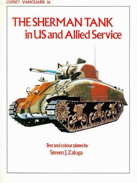 Le char Sherman en NOUS et Alliés Service - VANGUARD 26