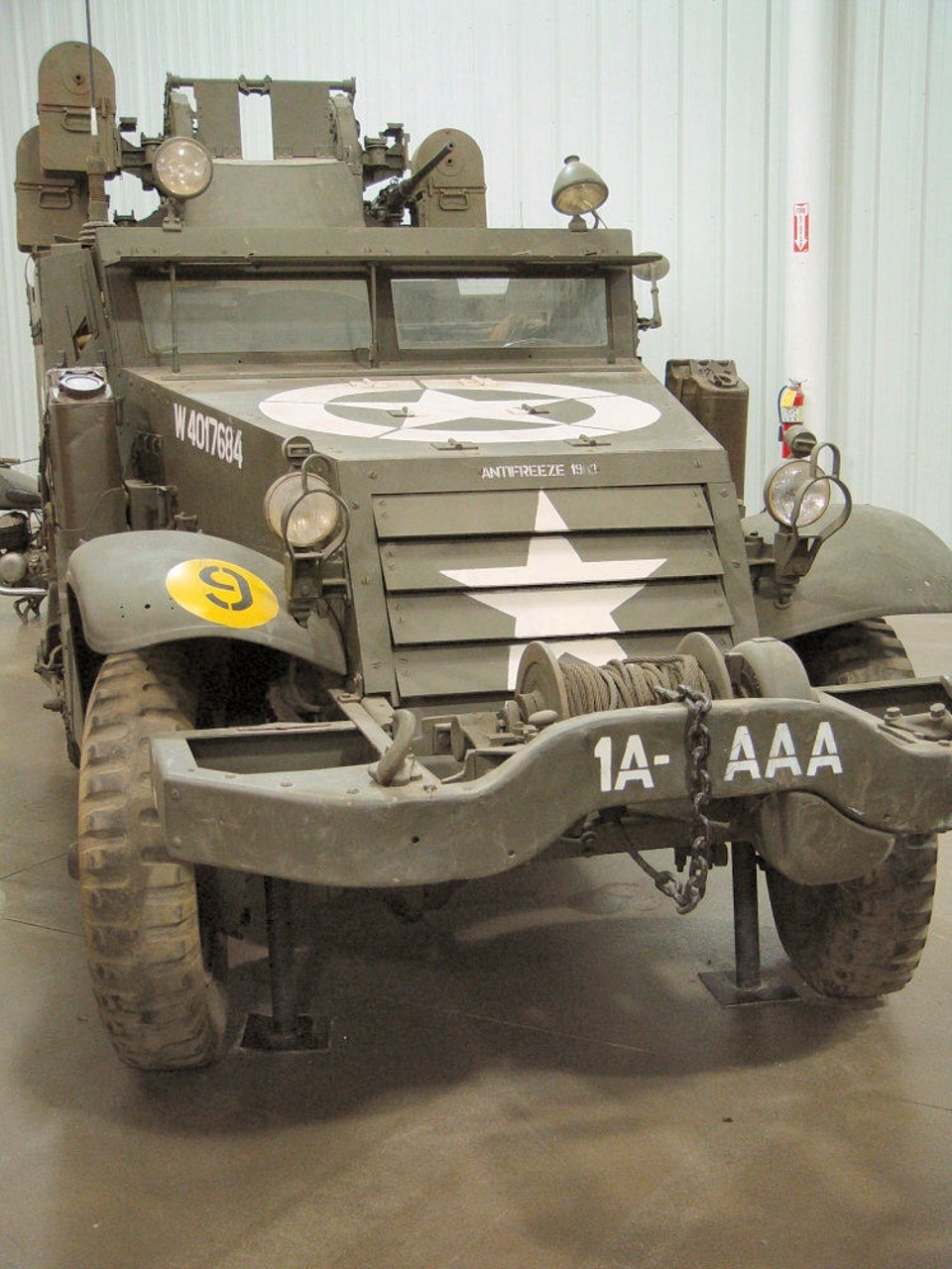 White M16 Gun Motor Carriage