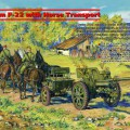 На 76,2 mm, F-22 with Horse Transport - ICM 35802