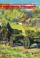 76,2 mm F-22 with Horse Transport - ICM 35802