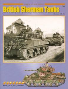 British Sherman tanks - Armor At War 7062