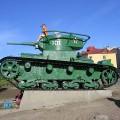 T-26 Tank - WalkAround