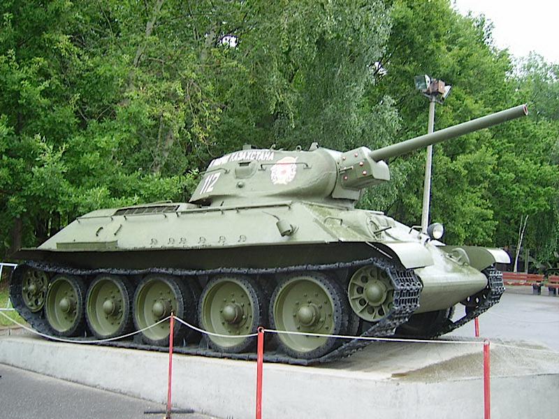 Char T-34/76 Modèle De 1941 - WalkAround