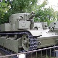 Medium tank T-28 - WalkAround
