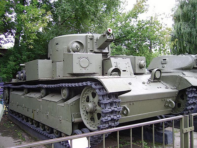 Char moyen T-28 - WalkAround