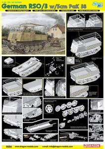 Duitse RSO/3 w/5cm PaK 38 DML 6684