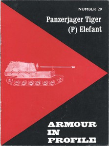 Jagdpanzer Elefant - SdKfz.184 - Armour In Profile 020
