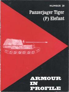 Antitanques Elefante SdKfz.184 De La Armadura En Los Perfiles 020