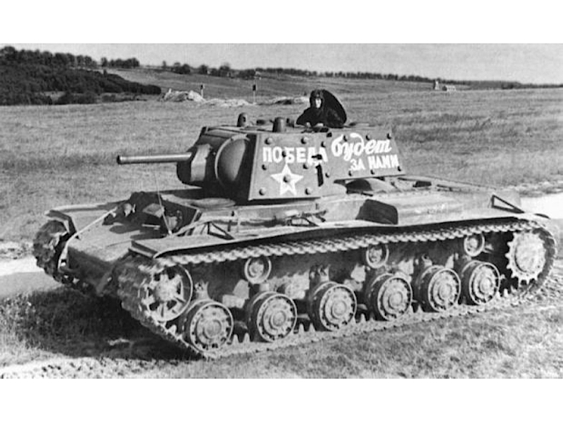 KV-1, KV-2 - Fotos