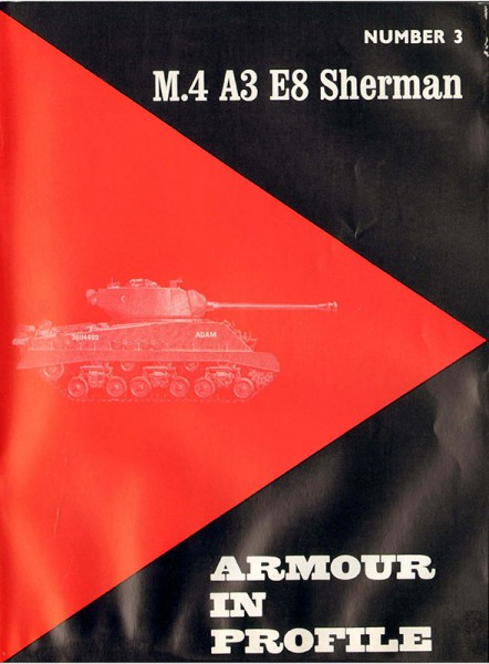 М4 А3 Е8 Sherman - Armour In Profile 003