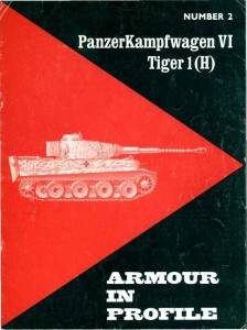 PanzerKampfwagen VI Tiger - Armour In Profile 002