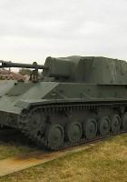 SU-76 - išorinis sukamaisiais apžiūra