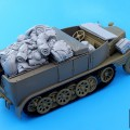 Sd.Kfz.11 set accessori - Cane Nero T35052