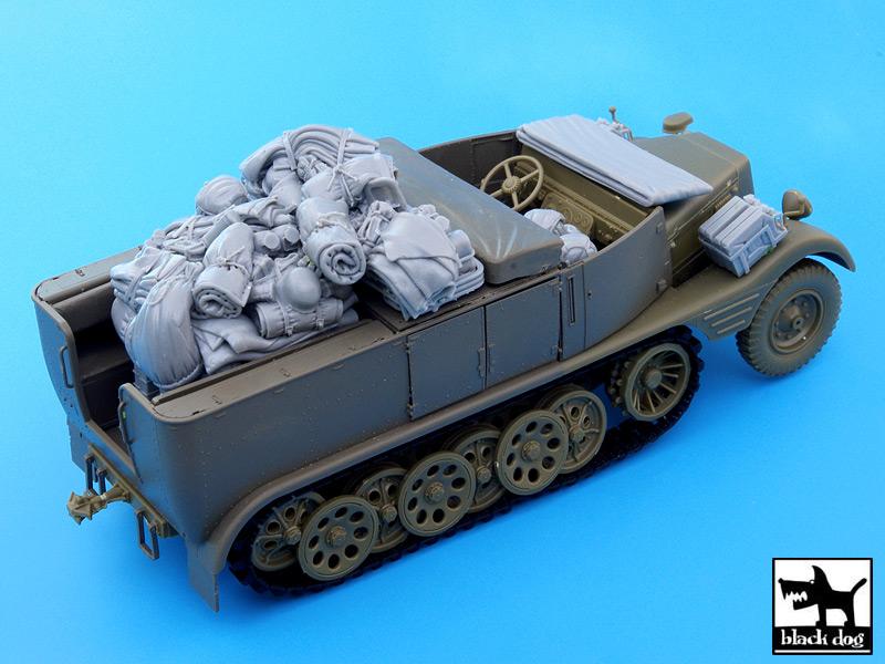 Sd.Kfz.11 dodatki set - Black Dog T35052