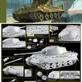 Sd.Car.182 king tiger Henschel Turret for DML 6209