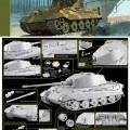 Sd.Bil.182 king tiger Henschel Turret for DML-6209
