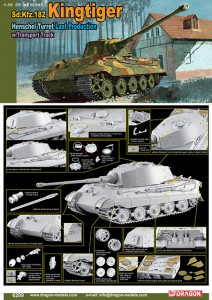 Sd.Kfz.182 Kingtiger Henschel Turret - DML 6209