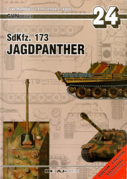 SdKfz.173 Jagdpanther - Tank Moč 24