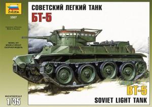 Sovjetiske Lys Tank BT-5 - Zvezda 3507