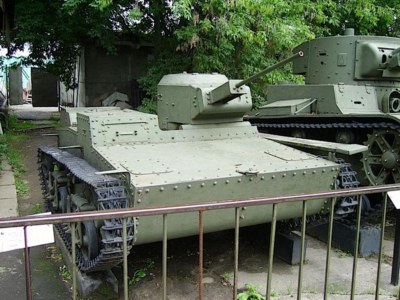T-38 차량 중 하나