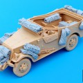 Us M3 Scout Car tillbehör set - Black Dog T35049