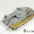 WWII German KING TIGER - E. T. MODELLO E35-033