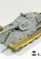 Tysk WWII KING TIGER - E. T. MODEL E35-033