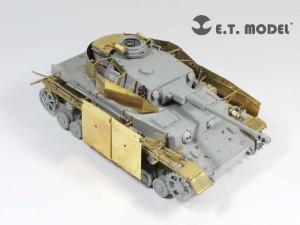 WWII saksa Pz.Kpfw.IV Ausf.F2/G Tava - E. T. MUDEL E35-084