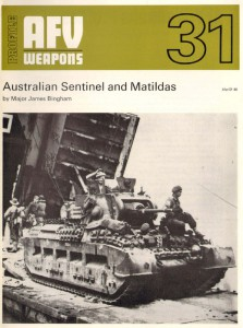 Australian Sentinel ja Matilda - AFV Aseita 31