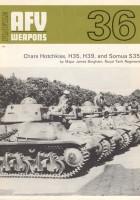 Чарс Хотчкисс, Н35, H39, і САУ 35 - озброєння ББМ 36