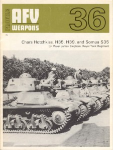 Chars Hotchkiss, H35, H39, and Somua 35 - AFV Weapons 36