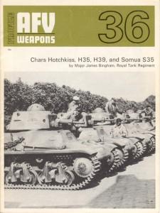Chars霍奇基斯,H35,H39,并Somua35-装甲战车武器36