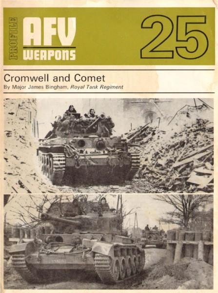 Cromwell et la Comète - AFV Armes de 25