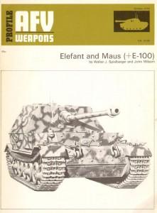 Elefant and Maus (E100) - AFV Weapons 61