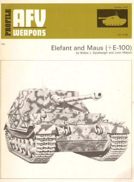 Elefant and Maus (E100) - AFV Weapons 61