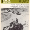 French Infantry Резервоари (R35 Резервоари, FCM36) Том II - AFV Оръжия 59