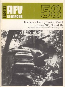 Prancūzų Pėstininkų Tankai Tūrio I - AFV Ginklų 58