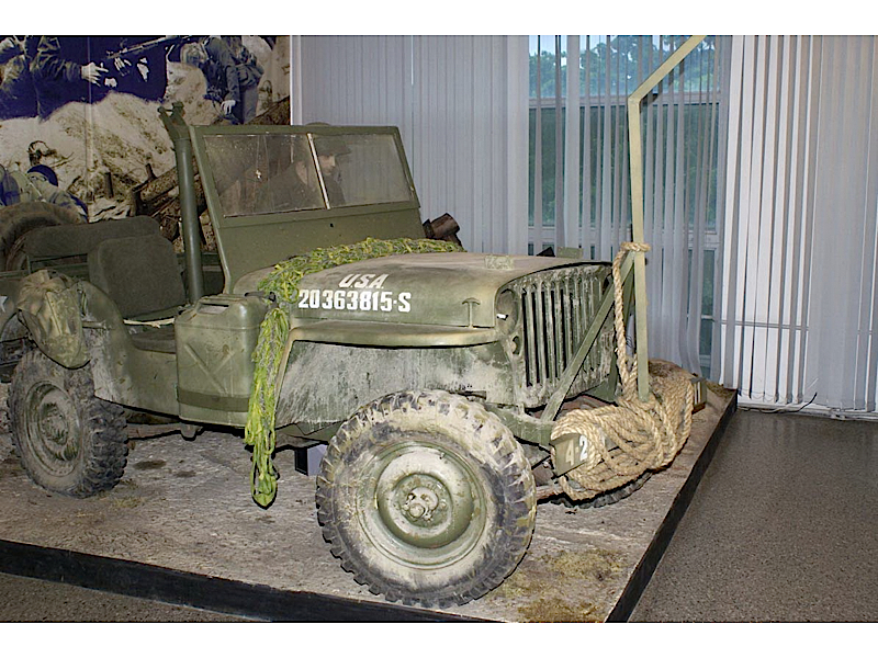 Jeep Willys MB - Omrknout