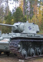 КВ-1 обр. 1942 - мобилна