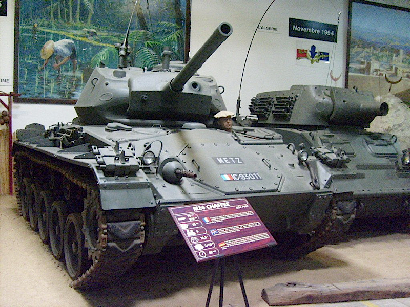 M24軽戦車Chaffee-歩