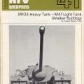 M103 Těžký Tank - Lehký Tank M41 - AFV Zbraně 41