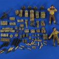 M3 15mm Gun Carriage Ammo - Stowage - Crew - Verlinden 2687