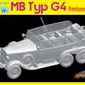 MB típus G4 partizán autó Cyber Hobbi 6715