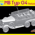 MB Tipo G4 Partisanenwagen De Cyber Hobby 6715