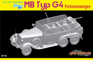 MB type G4 partisan car Cyber Hobby 6715
