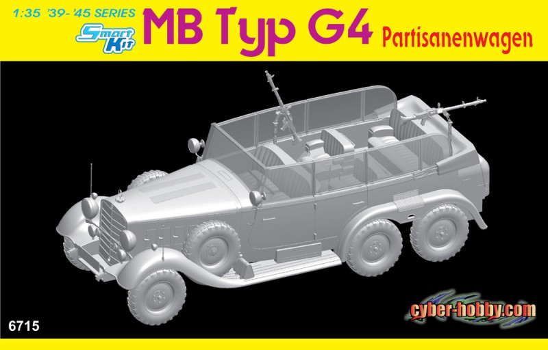 MB Typ G4 Partisanenwagen - Cyber Hobby 6715