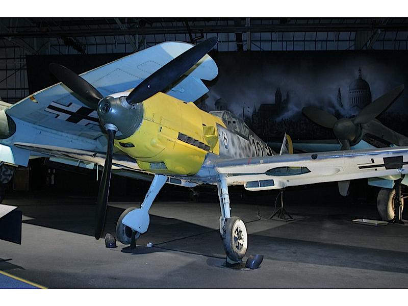 Messerschmitt Me-109E - Gå rundt