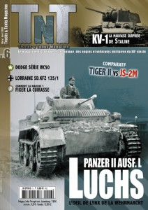 II号戦車ausfます。 L Luchs-KV-I-Review TnT06